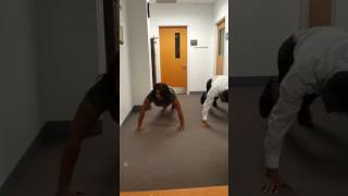 Gary, IN Police Chief Larry McKinley Push Up Challenge