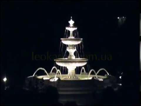 Видео к Фонтан (арт. 354, 032) с подсветкой №1
