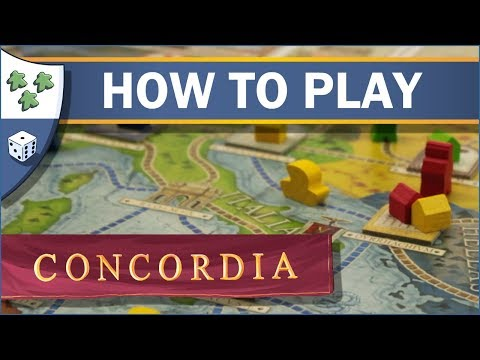 How to play Concordia - Nights Around a Table