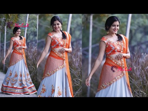 Latest Designer Half Sarees | New Look Mp3