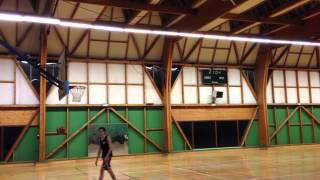 preview picture of video 'Basketball trick shots II'