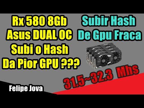 Como Subir o Hash de  GPU Fraca