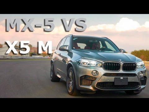 BMW X5 M vs Mazda MX-5, el orden de los factores sí altera el producto
