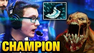Miracle- [Naix] with Blink Dagger Champion's Power Dota 2