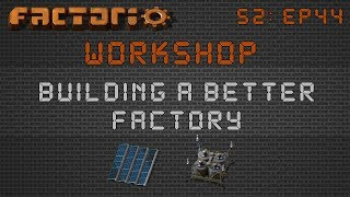 Zarklordu0027s Solar Layout / Design:: Factorio Workshop Season 2   Building A  Better Factory