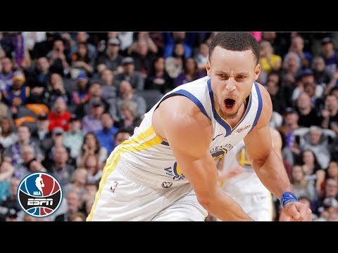 6fd93e859ad Steph Curry drops 42 in Warriors  win vs. Kings