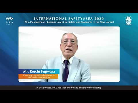Keynote Presentation by Mr. Koichi Fujiwara, Chairman, IACS