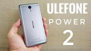 Ulefone Power 2 REVIEW - Android 7.0, 6050mAh Battery, 4GB RAM - 4K