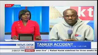 Five killed, ten injured as oil tanker crashes into tuk tuk in Kisumu