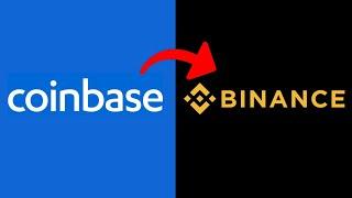 Transfer von ETH aus Binanz in das CoinBase-Netzwerk