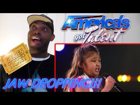 Angelica Hale: 9-Year-Old Earns Golden Buzzer From Chris Hardwick - America's Got Talent REACTION!!!