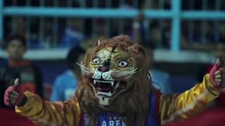 KIBARAN SATU JIWA - BENDERA AREMA ONE INCREDIBLE BLUE