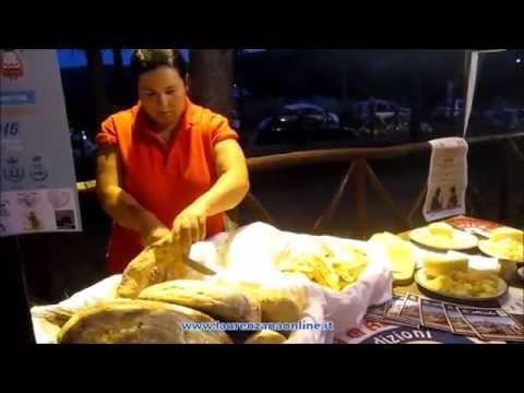 Preview video Video Unione Comuni e Pro Loco Val Camastra-Basento in vetrina gastronomia e artigianato Anzi 31 luglio 2016