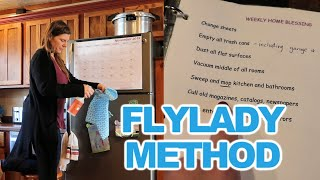 🧹CLEANING WITH KIDS👦👧 | Monday Home Blessing Hour | Flylady Method