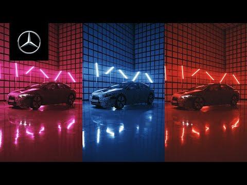 新型電気自動車「EQS」のインテリアが未来的すぎた
