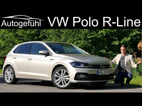 VW Polo R-Line FULL REVIEW - Autogefühl