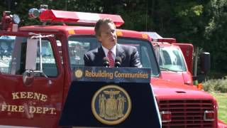 Governor Cuomo Announces Funds to Replace Keene Firehouse Washed Away in Hurricane Irene Floods