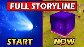 [FULL] FORTNITE STORYLINE (Season 1 - Season 5) EXPLAINED! COMET to CUBE!