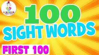 100 Sight Words For Kids | Learning Time Fun | Fry Words | Popcorn Words | Learn Sight Words
