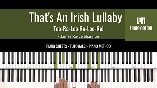 That's An Irish Lullaby