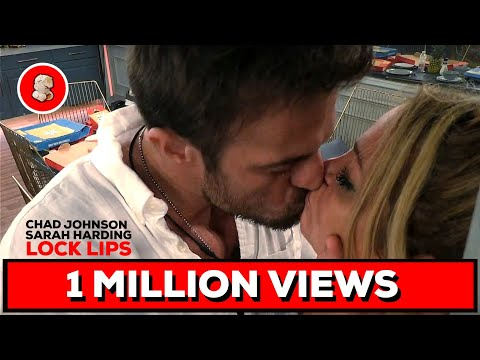 Sarah Harding and Chad Johnson lock lips! | Celebrity Big Brother | Day 11