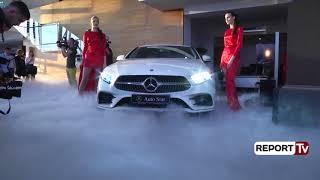 Report TV - Auto Star Albania sjell në Shqipëri Mercedes-Benz A-Class-n e ri