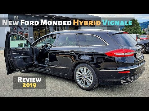 New Ford Mondeo Hybrid Vignale 2019 Review Interior Exterior