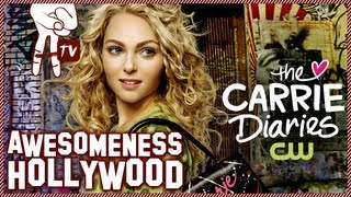 Interview pour The Carrie Diaries (awesomeness TV)