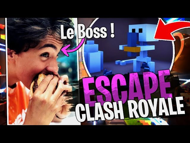 Escape Clash Royale