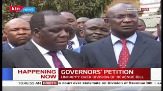 Chairman COG, Wycliffe Oparanya's press address over division of revenue bill