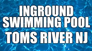 preview picture of video 'Inground Swimming Pool - Toms River - Brick - Lakewood - Lacey'