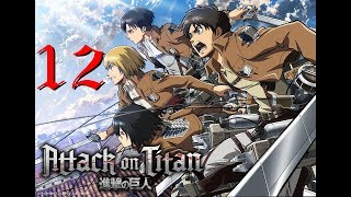 [PC GAME] Attack on titan: Wings of freedom - Full Gameplay Part 12 - 60 FPS 1080p