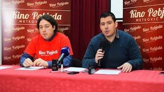 preview picture of video 'Konferencija za medije Ustanove za kulturu i sport Metković - otvorenje Kina Pobjeda'