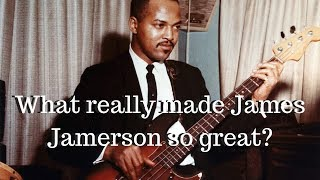 What really made James Jamerson so great?