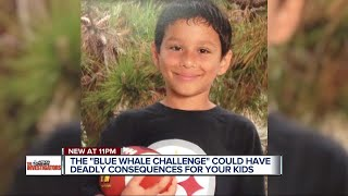 Blue Whale Challenge could have deadly consequences for your kids
