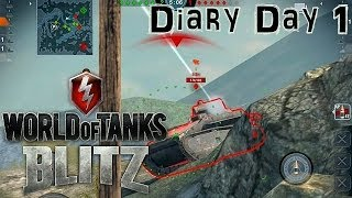 World of Tanks Blitz - Let's Play Battle Diary Day 1