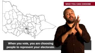 Auslan Guide to Voting in Victorian Elections
