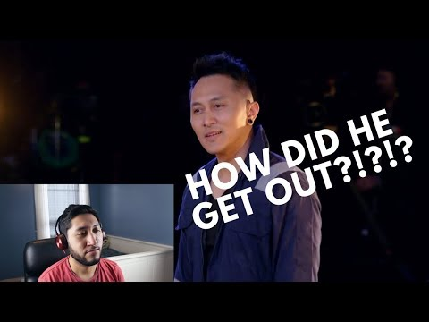 MAGICIAN REACTS TO DAMIEN ADITYA ON AGT! (видео)