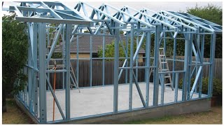 Light gauge steel frame building system