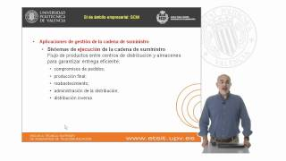 Sistemas de información de soporte a la gestión de la cadena de suministro SCM