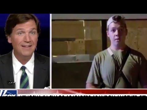 Tucker Carlson Please Shut Up About Kenosha Shooter Kyle Rittenhouse And Stop Rewarding Violence