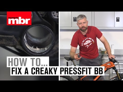 How To Fix a Creaky Pressfit Bottom Bracket | Mountain Bike Rider
