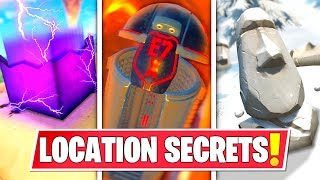 *NEW* SECRET LOCATION CHANGES THAT *EVERYONE MISSED* IN SEASON 10 MAP! STONE HEADS, CUBE AND MORE!