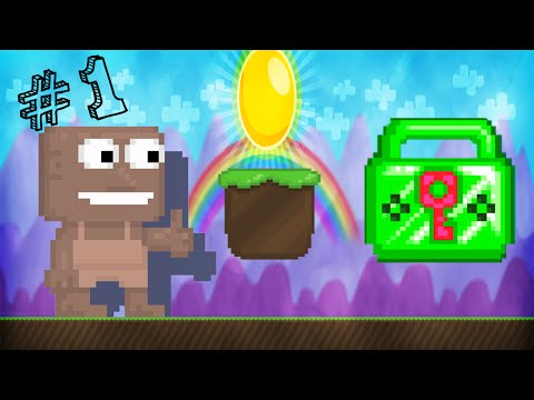 Video Growtopia | I'm BACK! | From Dirt To Emerald Lock - Ep 1