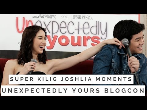 Super Kilig & Kulit JoshLia Moments at the Unexpectedly Yours Blogcon Joshua Garcia Julia Barretto