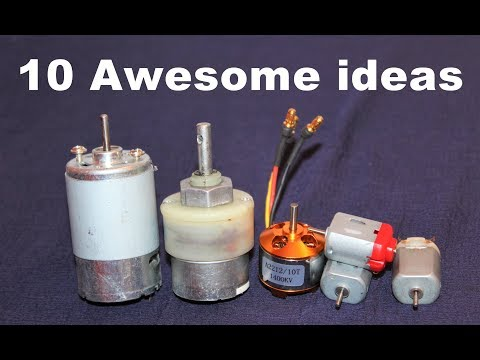 10 Awesome Useful Things From DC Motor – DIY Electronic Hobby