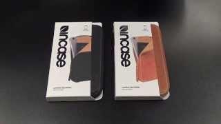 Incase Leather Zip Wallet for iPhone 6 Plus, Note 4, Nexus 6