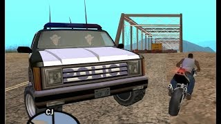 GTA San Andreas - How to avoid the Fallow Bridge with the invisible barriers in place - early access