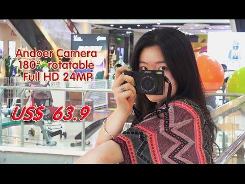 Andoer CDR2 1080P 15fps Full HD 24MP Digital Camera