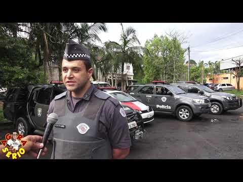 Tenente da Polícia Militar em entrevista para o jornal do Sbt